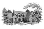 House With Uncommon Tudor Influences