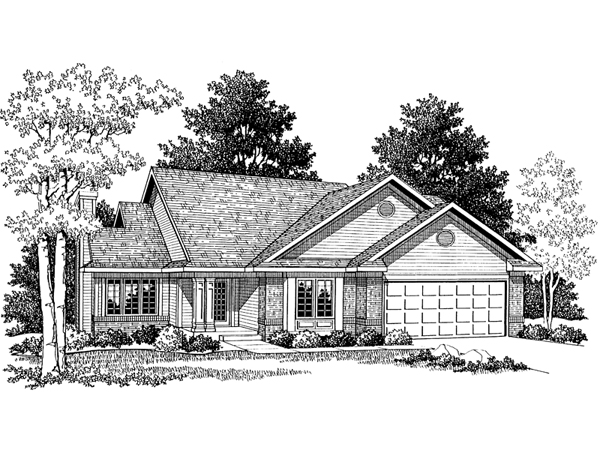 Eden Prairie Ranch Home Plan 051d 0058 House Plans And More