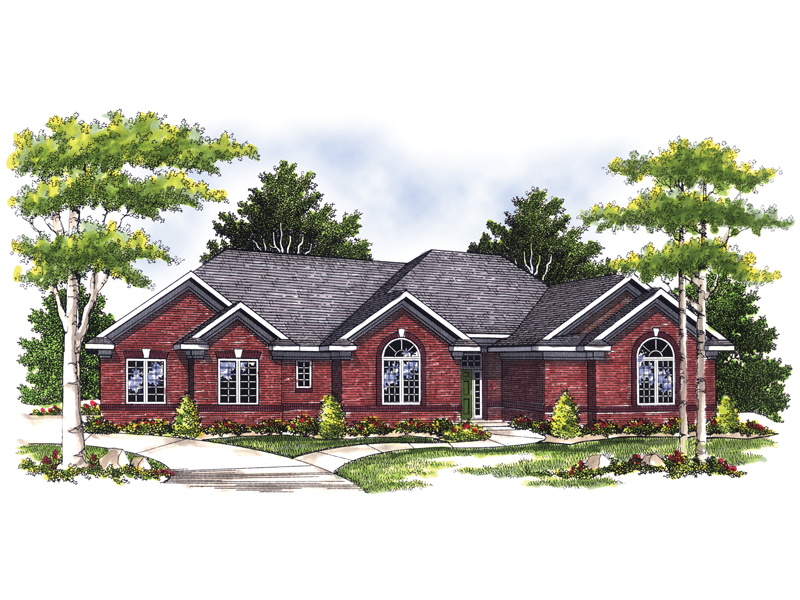 Traditional Ranch Home