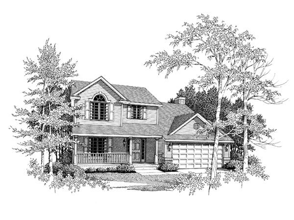 Alpine lawn country farmhouse plan 051d 0120 house plans for Alpine home design