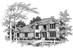 Stately Two-Story House