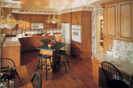 Contemporary House Plan Kitchen Photo 01 - 051D-0182 | House Plans and More