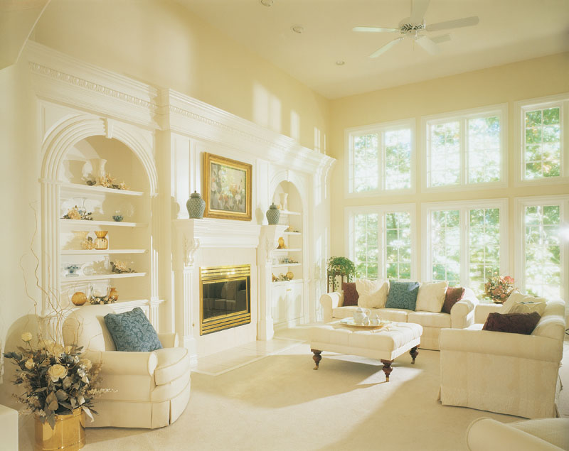 European House Plan Living Room Photo 01 051D-0182