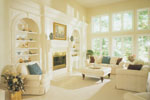 Ranch House Plan Living Room Photo 01 - 051D-0182 | House Plans and More