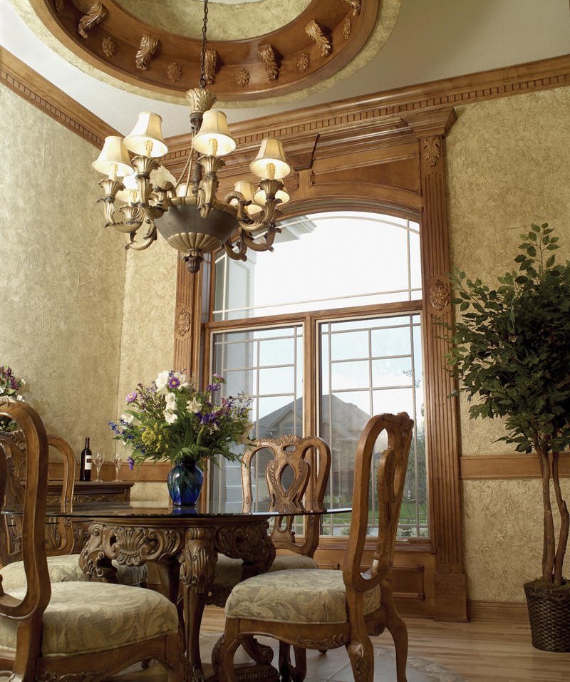 Traditional House Plan Dining Room Photo 02 051D-0187
