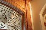 English Tudor House Plan Door Detail Photo - 051D-0187 | House Plans and More