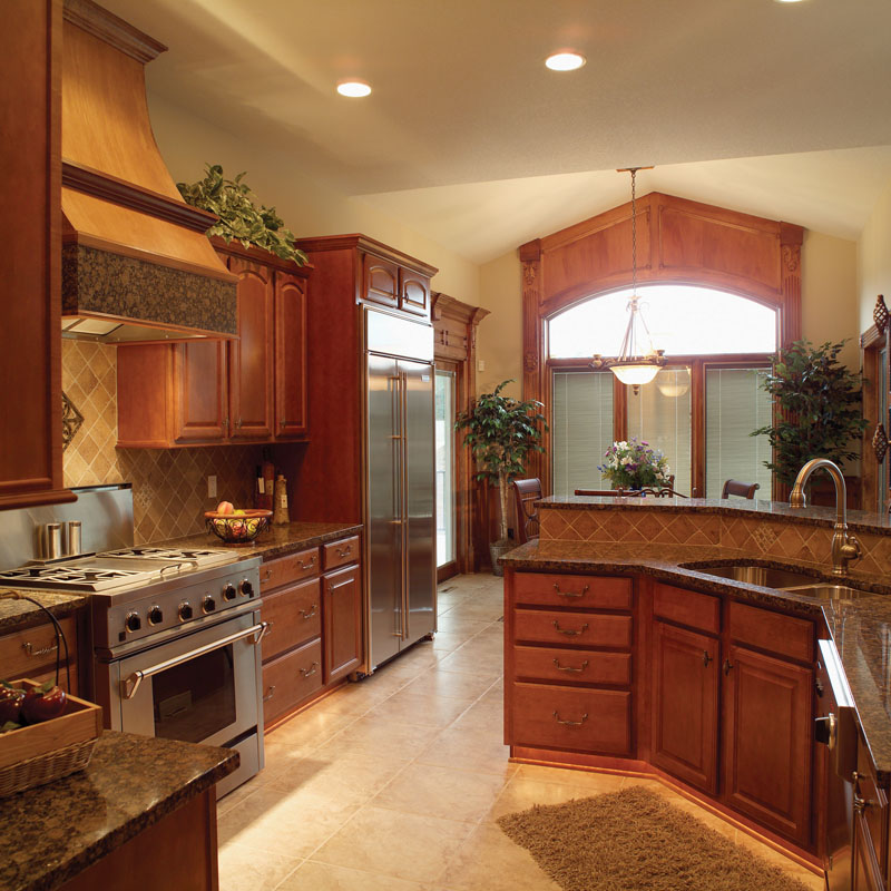 Traditional House Plan Kitchen Photo 01 051D-0187