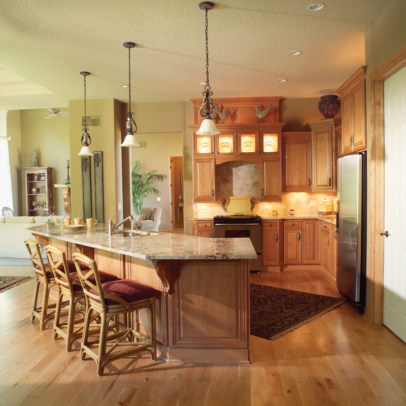 Southern House Plan Kitchen Photo 01 051D-0188