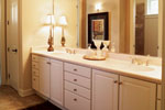 Tudor House Plan Master Bathroom Photo 01 - 051D-0188 | House Plans and More