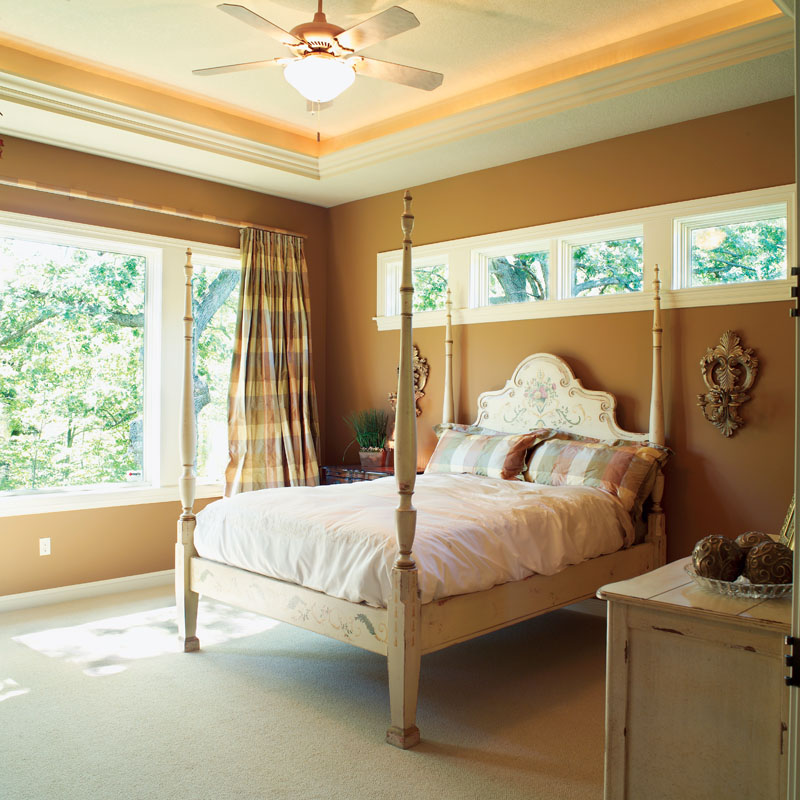 Tudor House Plan Master Bedroom Photo 01 051D-0188