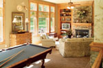 Ranch House Plan Recreation Room Photo 02 - 051D-0188 | House Plans and More