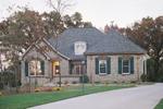 Plan #051D-0189 - European Style Home
