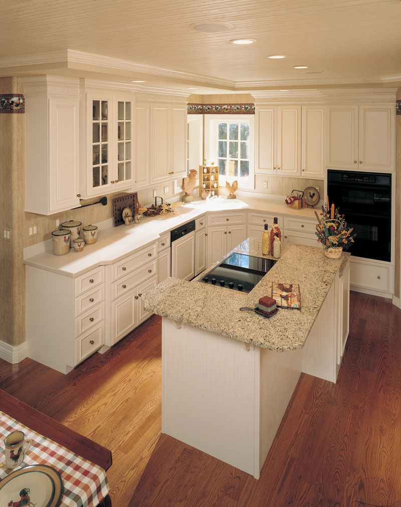 European House Plan Kitchen Photo 01 - 051D-0190 | House Plans and More