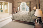 European House Plan Master Bedroom Photo 01 - 051D-0190 | House Plans and More