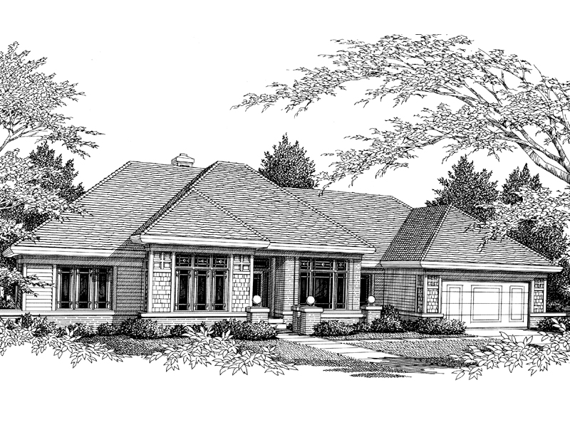 Contemporary Styled Ranch Home