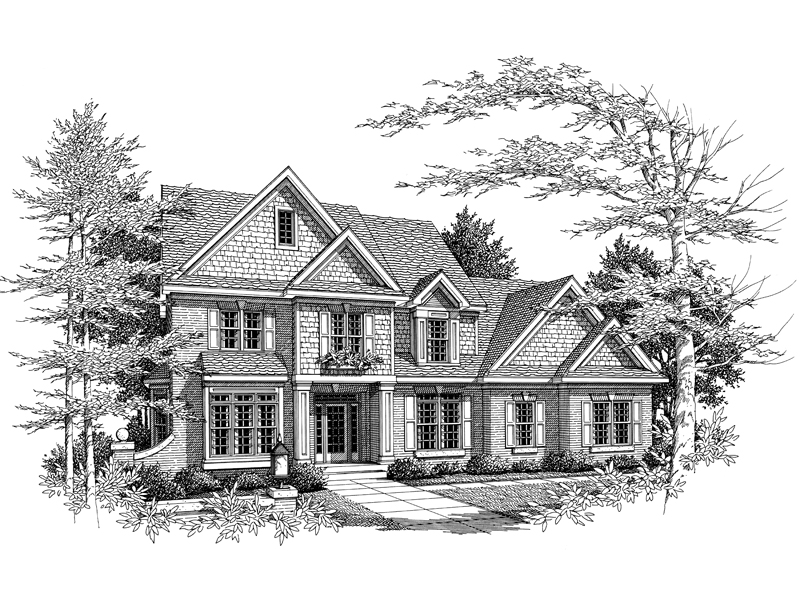 Shingled Traditional Design With High Style