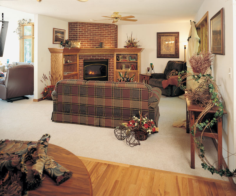 Country House Plan Family Room Photo 01 051D-0238