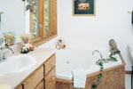 Neoclassical Home Plan Master Bathroom Photo 01 - 051D-0238 | House Plans and More