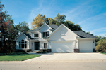 Luxury Two-Story House With Beautiful Curb Apeal And Strong Gables