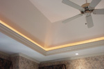 European House Plan Ceiling Detail Photo - 051D-0258 | House Plans and More