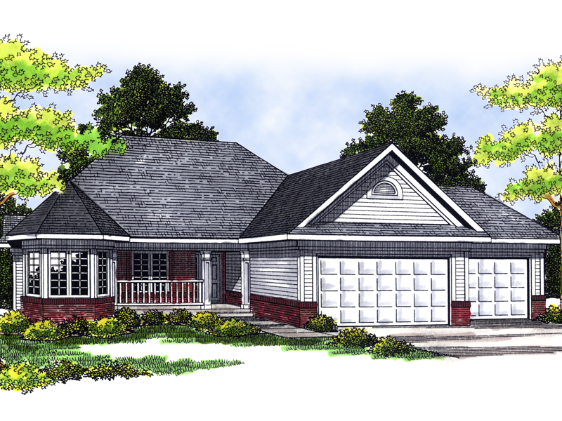 Chillingham Ranch Home Plan 051d 0360 House Plans And More
