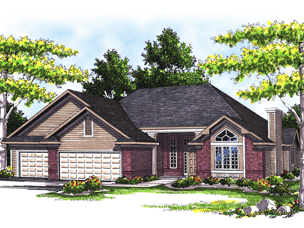Contessa traditional ranch home plan 051d 0366 house for Traditional ranch home plans