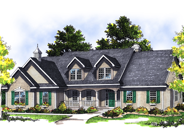 Eileen Ann Cape Cod Style Home Plan 051d 0373 House