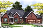 Luxurious Tudor Style Home With Striking Brick Exterior