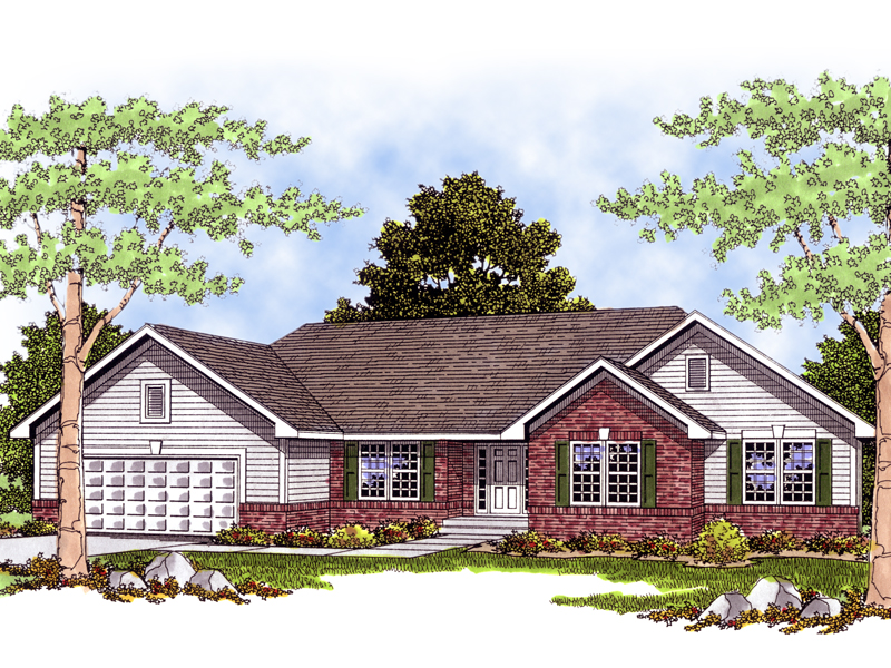 Giovanni traditional ranch home plan 051d 0385 house for Traditional ranch home plans