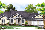 Stucco Siding Adds Interest To This Sunbelt Ranch Home