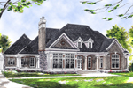 Ranch Home Has Cape Cod Influence With Twin Dormers