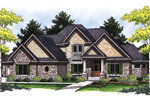 Modern House Plan Front Image - 051D-0466 | House Plans and More