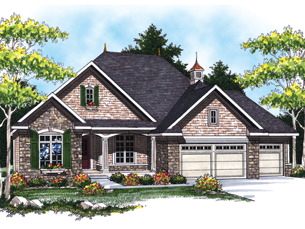 massey creek country home plan 051d 0476 house plans and