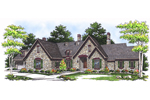 All-Stone Ranch Home Promotes Enchanting European Style