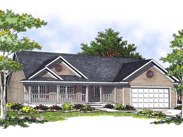 Peacock Hill Country Ranch Home Plan 051d 0494 House