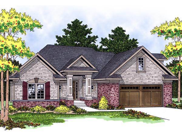 Eldora Traditional Ranch Home Plan 051d 0500 House Plans