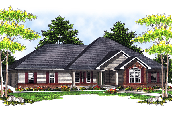 Longfield Luxury Ranch Home Plan 051d 0514 House Plans