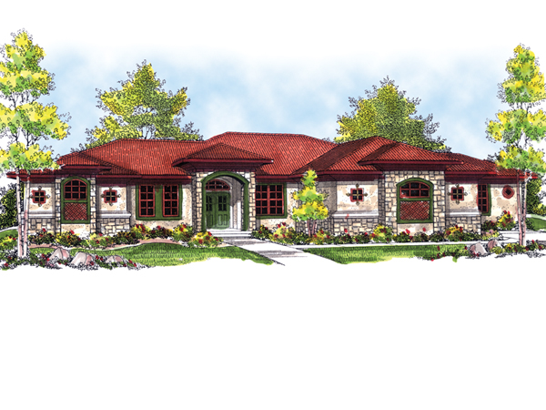 Chaseberry sunbelt home plan 051d 0518 house plans and more for Sunbelt homes