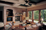 Southwestern House Plan Family Room Photo 01 - 051D-0541 | House Plans and More