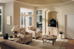 Santa Fe House Plan Living Room Photo 01 - 051D-0541 | House Plans and More