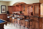 Sunbelt Home Plan Bar Photo - 051D-0544 | House Plans and More