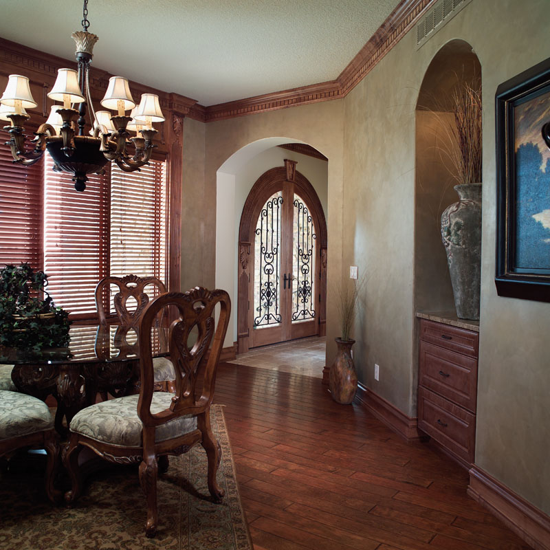 Prairie Style Floor Plan Entry Photo 01 051D-0544
