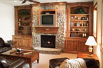 Prairie Style Floor Plan Fireplace Photo 03 - 051D-0544 | House Plans and More