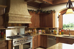 Italian House Plan Kitchen Photo 02 - 051D-0544 | House Plans and More