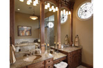 Prairie Style Floor Plan Master Bathroom Photo 01 - 051D-0544 | House Plans and More