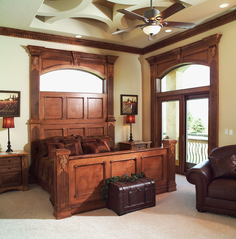 Prairie Style Floor Plan Master Bedroom Photo 01 051D-0544