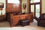 Santa Fe House Plan Master Bedroom Photo 01 - 051D-0544 | House Plans and More