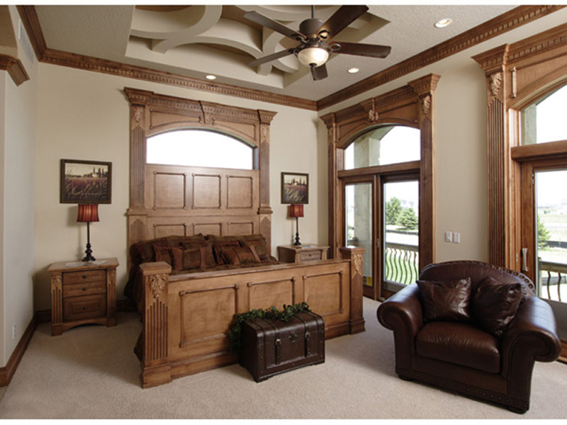 Prairie Style Floor Plan Master Bedroom Photo 02 051D-0544