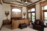 Santa Fe House Plan Master Bedroom Photo 02 - 051D-0544 | House Plans and More