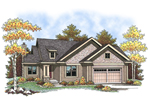 Traditional Ranch Has Craftman Details For Added Curb Appeal